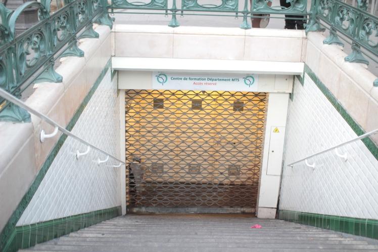 Old entrance Gare du Nord USFRT